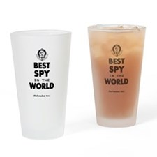 The Best in the World – Spy Drinking Glass