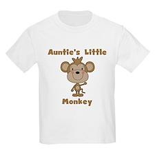 Auntie's Little Monkey T-Shirt