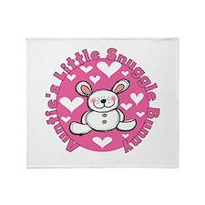 Auntie's Snuggle Bunny Throw Blanket