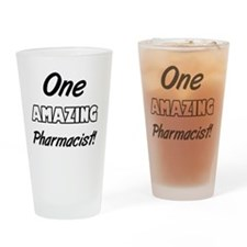 One Amazing Charge Nurse Drinking Glass