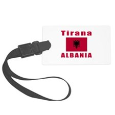 Tirana Albania Designs Luggage Tag