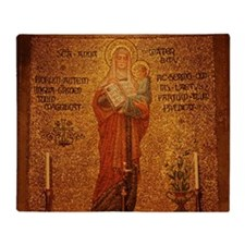 Saint Anne Throw Blanket