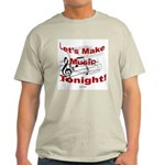Let's make music tonight , Red Light T-Shirt