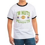 Nut's about peanuts Ringer T