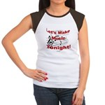 Let's make music tonight , Red Women's Cap Sleeve