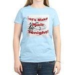 Let's make music tonight , Red Women's Light T-Shi