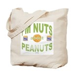Nut's about peanuts Tote Bag