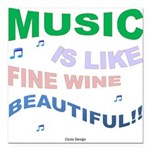 Music is like fine wine beautiful!! Square Car Mag