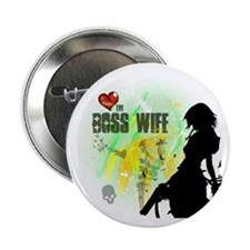 "The Boss Wife 2.25"" Button"