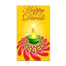 Happy Diwali Rectangle Car Magnet