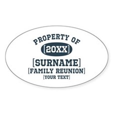 Personalize Family Reunion Decal