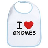I love gnomes Bib