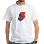 Candice 3D 5 White T-Shirt