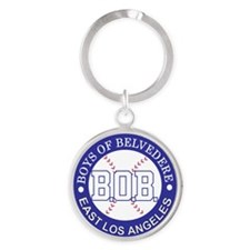 Boys of Belvedere Logo-Remastered 7 Round Keychain