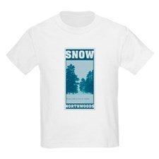 Snow Northwoods Kids T-Shirt