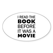 I Book Movie Decal