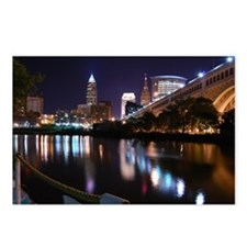 Cle Skyline Postcards (Package of 8)