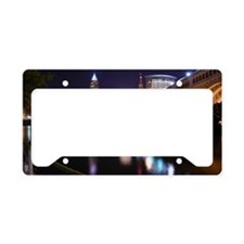 Cle Skyline License Plate Holder