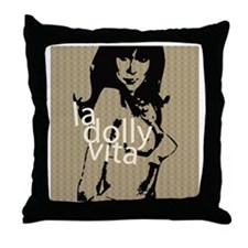 La Dolly Vita Throw Pillow