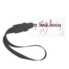 2-sharks-blood Luggage Tag