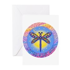 LGLG-Butterfly (purp) Greeting Cards (Pk of 10)