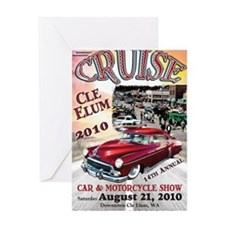 2010_Cruise_Cle_Elum_POSTER Greeting Card
