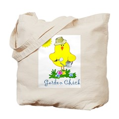 Garden Chicks Tote Bag