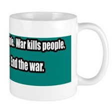 Wikileaks-Peace-Anti-War-Bumper-Sticker Mug