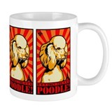 Obey the POODLE! Propaganda Small Mug