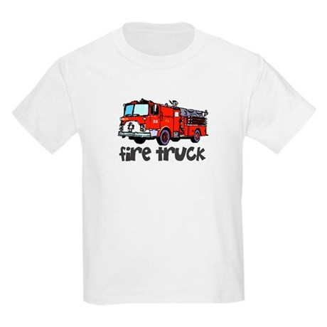 Firetruck Kids T-Shirt