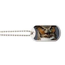 Laughing  Owl Dog Tags