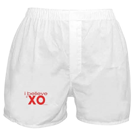 I believe in Hugs & Kisses Boxer Shorts