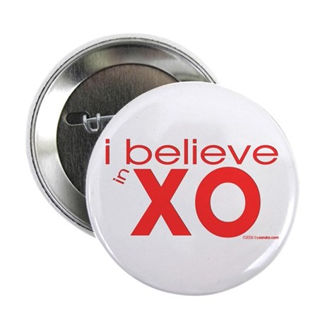 I believe in Hugs & Kisses Button