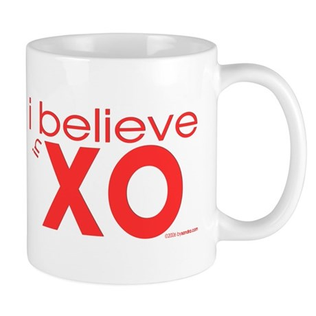 I believe in Hugs & Kisses Mug