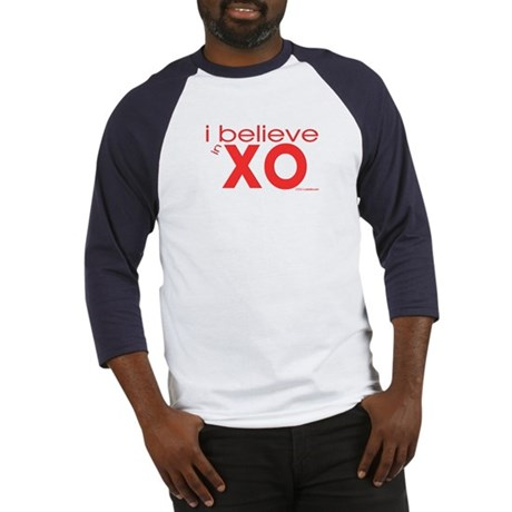 I believe in Hugs & Kisses Baseball Jersey
