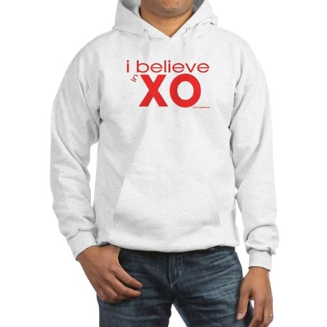 I believe in Hugs & Kisses Hooded Sweatshirt
