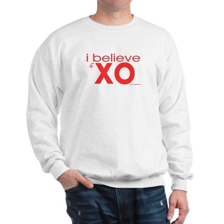 I believe in Hugs & Kisses Sweatshirt