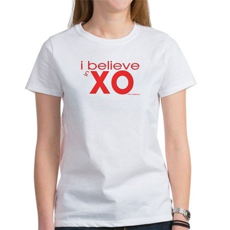I believe in Hugs & Kisses Women's T-Shirt