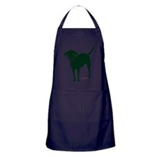 Three Legged Black Lab Rear Tripawd S Apron (dark)