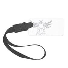 Fitness Is My Armor white Luggage Tag