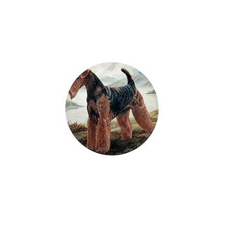 Airedale Mini Button
