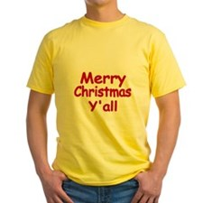 Merry Christmas Yall T-Shirt