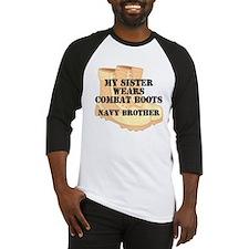 Navy Brother Sister Desert Combat Boots Baseball J
