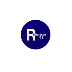 R: Richardson '08 Mini Button (100 pack)
