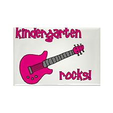 kindergartenrocks_pink Rectangle Magnet