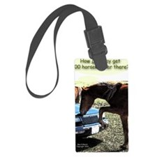 300 Horse Car Luggage Tag