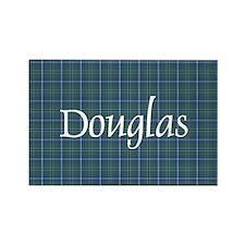 Tartan - Douglas Rectangle Magnet