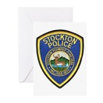 Stockton Police Greeting Cards (Pk of 10)