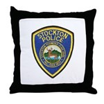 Stockton Police Throw Pillow