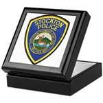 Stockton Police Keepsake Box